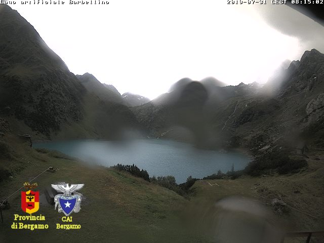Webcam verso la conca del Barbellino